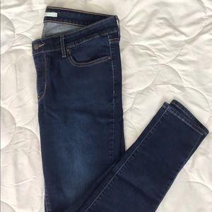 Levi's 711 Skinny Jeans Dark Wash